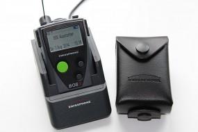 Swissphone BOSS 915 mit Ladegerät und Ledertasche