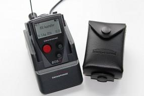 Swissphone BOSS 935 mit Ladegerät und Ledertasche