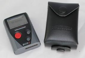 Schutztasche für BOSS/RES.Q, geschlossen, mit Displayausschnitt und Druckknopfversch
