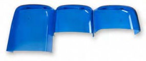 TOPas Farbhaube, blau, gross (Halogen) Länge ca. 320 mm
