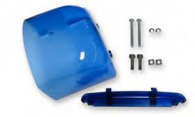 TOPas Farbhaubenset, blau, klein (Halogen) - Länge Haube ca. 185 mm