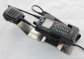 HRT Trägerblech Sepura STP8/9000 - Sepura Passiv / Passiv Plus - Sepura Edelstahl roh
