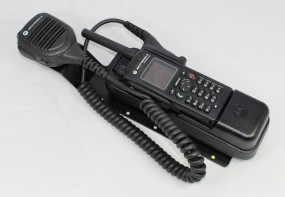 HRT Trägerblech Motorola MTP830/850FuG - Motorola - Motorola Schwarz RAL 9005 matt