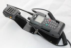 HRT Trägerblech Sepura STP8/9000 - Sepura Passiv / Passiv Plus - Sepura Schwarz RAL 9005 matt