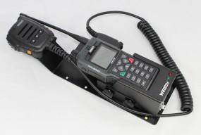 HRT Trägerblech Sepura STP8/9000 - WeTech WTC 681/689/1702- Sepura Schwarz RAL 9005 matt