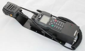 HRT Trägerblech Sepura STP8/9000 - WeTech WTC 621/672/1703/1803 - Sepura Schwarz RAL 9005 matt