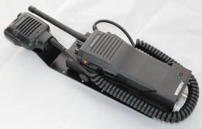 HRT Trägerblech Kenwood TK290-FuG 11b - Wetech 675 - Kenwood Schwarz RAL 9005 matt