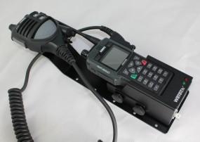 HRT Trägerblech Sepura STP8/9000 - WeTech WTC 681 - Sepura OptiVo Schwarz RAL 9005 matt