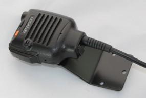 sep. Mikrohalter für Kenwood TK-290-11B FuG 11b Schwarz RAL 9005 matt
