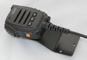 Sep. Mikrohalter für Sepura Schwarz RAL 9005 matt