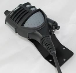 Sep. Mikrohalter für Sepura OptiVo Schwarz RAL 9005 matt