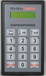 Swissphone MelderTester für analoge und digitale Meldeempfänger im 4m/2m