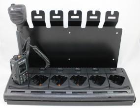 HRT Wandhalterung für Motorola MTP830/850FuG und Motorola 6-fach Ladeschale