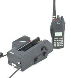 WeTech WTC664 Icom Aktiv Ladehalterung für FuG-10b, FuG-11b (nur alte FuG-11b Version), FuG-13b