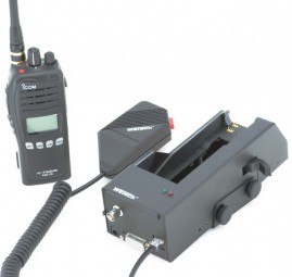 WeTech WTC667 Icom Aktiv Ladehalterung für FuG-11b (neue FuG-11b Version)