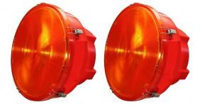 LED Zweifach-Warnlichtanlage (12 Volt / 24 Volt) 340 mm