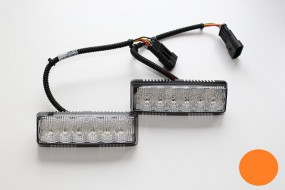 LED-Frontblitzer K-FS4, gelb, Satz
