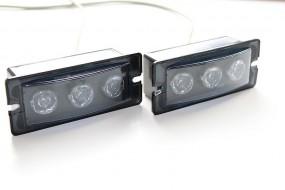 LED-Heckblitzer KL-R 9 Blau Set