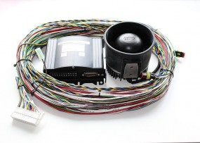 Warnanlange MS-350 Paket mit 1 Lautsprecher, 24V