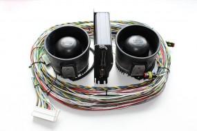 Warnanlange MS-350 Paket mit 2 Lautsprecher, 24V