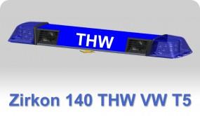ZIRKON 140 THW für VW T5 mit 2 Lautsprechern