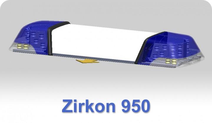 zirkon 950 mm basisger t blau mit blinker lichtbalken mit blinker blaulicht lichtbalken. Black Bedroom Furniture Sets. Home Design Ideas